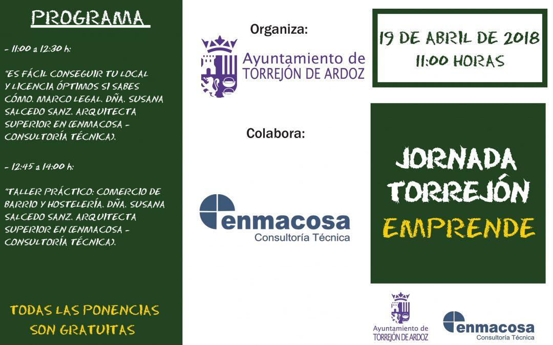 Enmacosa impartirá una sesión informativa sobre gestión de licencias en Torrejón de Ardoz