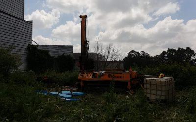 Estudio geotécnico para una planta de reciclaje en Portugal