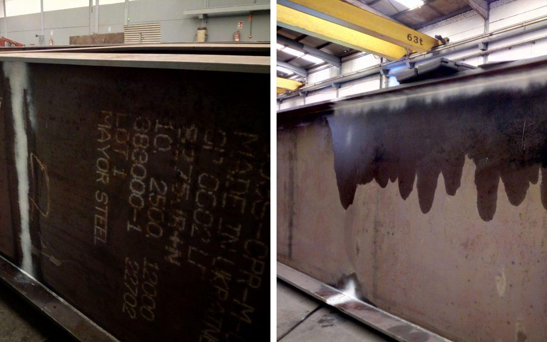 Control de calidad de las obras del nuevo almacén automático de Estrella Galicia en A Coruña