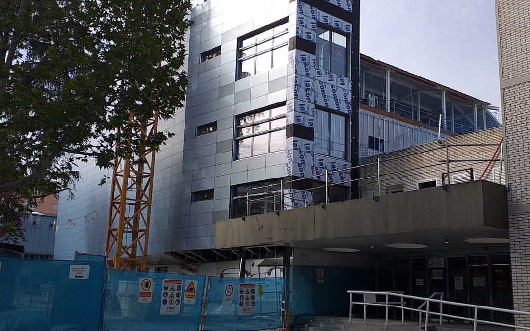 Asistencia técnica para la estructura de la obra del nuevo bloque quirúrgico del hospital Gregorio Marañón
