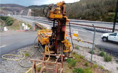 Estudio geotécnico y control de calidad de Enmacosa para las antenas del AVE en el tramo Olmedo-Ourense
