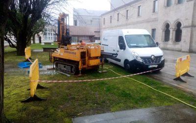 Geotécnicos de Enmacosa para cuatro proyectos de movilidad vertical en la ciudad de Ourense